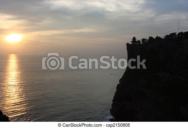 Sunset on Bali - csp2150808