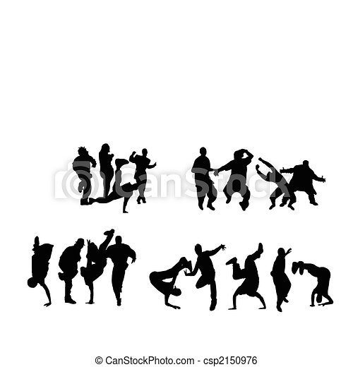 Crowd dancing - csp2150976