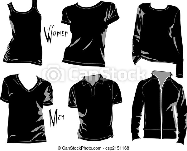 T-Shirt templates - csp2151168