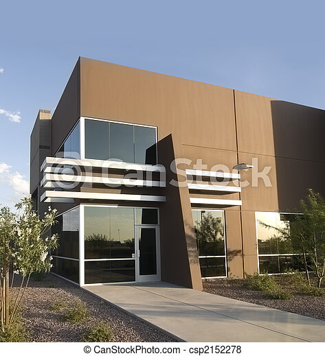 Modern commercial real estate - csp2152278