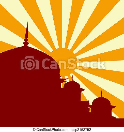 Vector mosque  - csp2152752