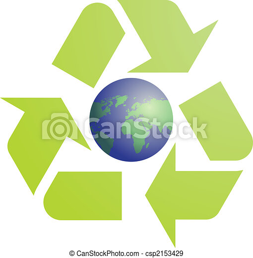 Recycling eco symbol - csp2153429