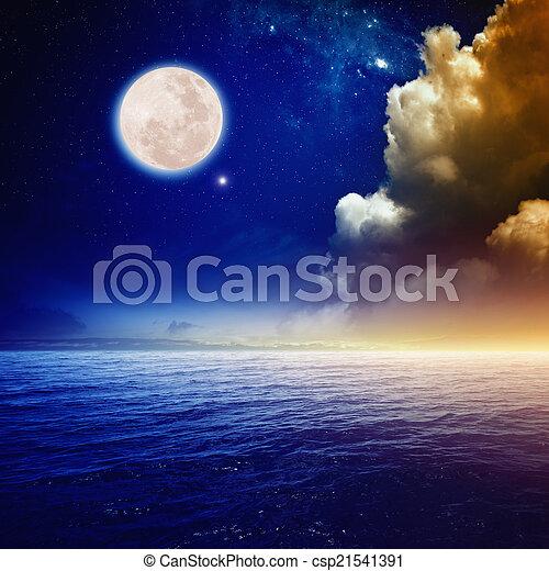 Full moon - csp21541391