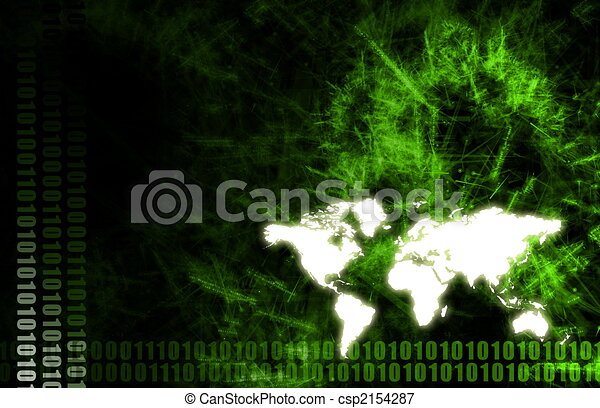 Global Economy Business Background - csp2154287