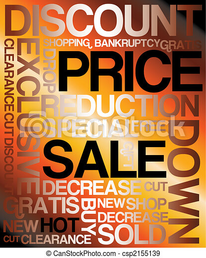 Sale discount poster - csp2155139