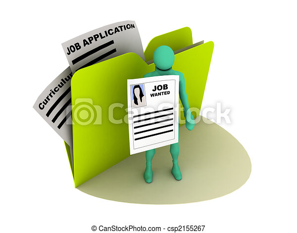 job wanted icon - csp2155267