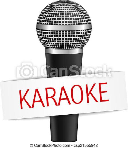 Karaoke Microphone Clip Art