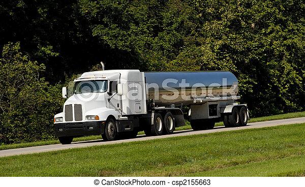 Fuel Tanker Transport Truck - csp2155663