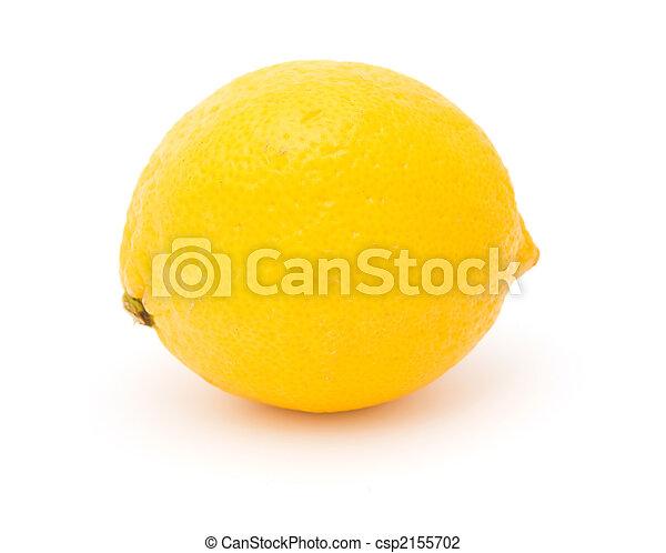 Lemon isolated object - csp2155702