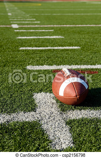 American Football on Field - csp2156798