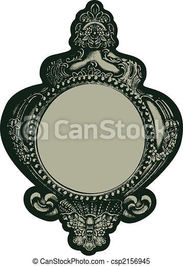 Illustration Classique Fantaisie Miroir Embl Me