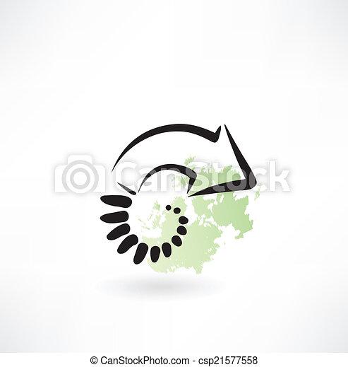 arrow icon - csp21577558