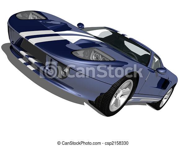 Super Sports Car - csp2158330