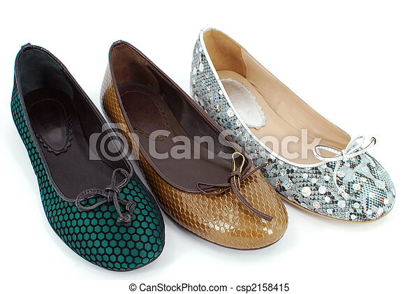 lady ballet flat shoes - csp2158415