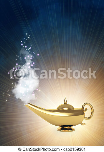 Magic lamp - csp2159301