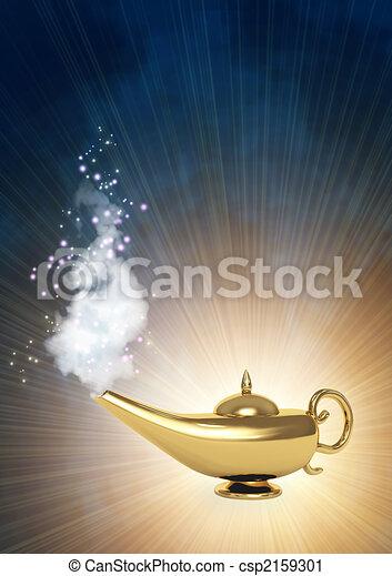 Magic lamp - csp2159301