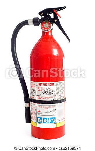Fire Extinguisher - csp2159574