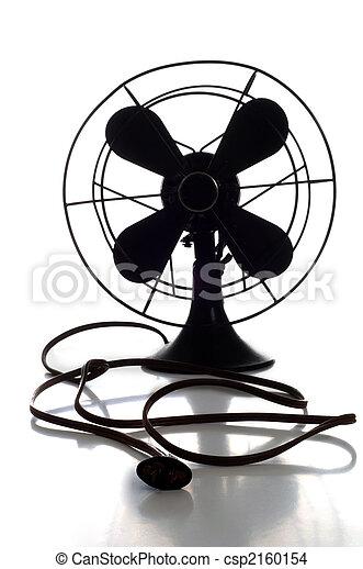 Antique Fan - csp2160154