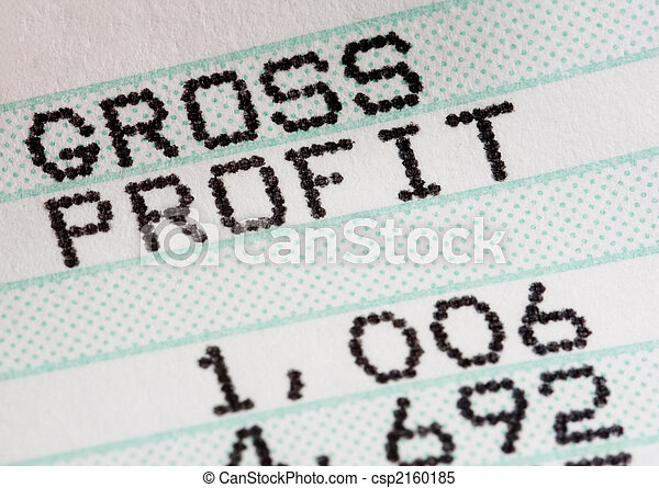 Analysis of business profit and loss statment - csp2160185