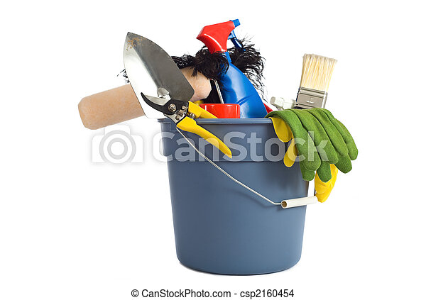 Spring Cleaning Supplies - csp2160454