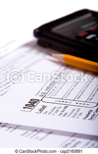 Tax Preparation - csp2160891