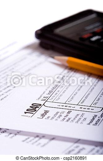 Tax Preparation - csp2160891