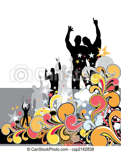 pop party background - csp2162838
