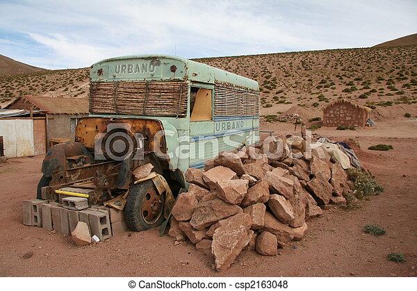 Altiplano bus in Chile - csp2163048