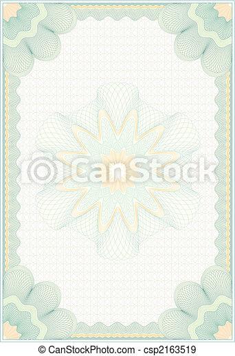 Engraved Diploma - csp2163519