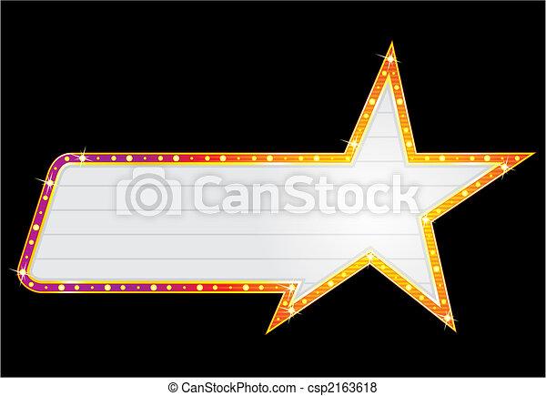 Star shape neon - csp2163618