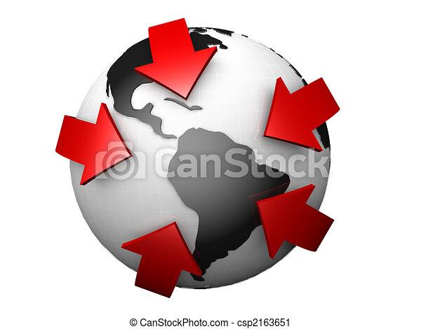 International Worldwide Business Concept - csp2163651
