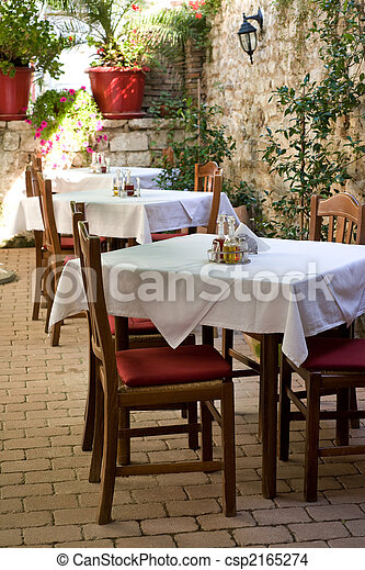 Zadar restaurant - csp2165274