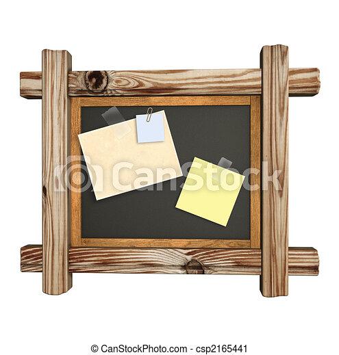Clipart de tableau noir retro tableau noir bois for Image de cadre de tableau