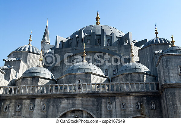 Blue Mosque. - csp2167349