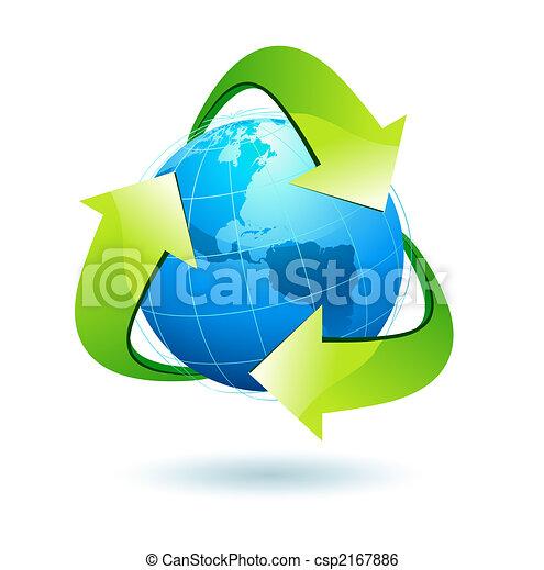 recycle symbol - csp2167886