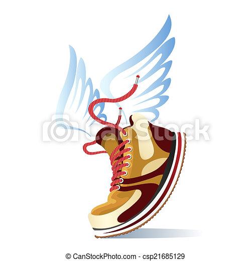 Running Shoe Artwork