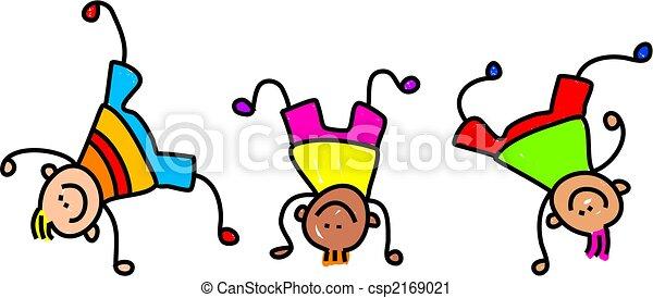 funky kids - csp2169021