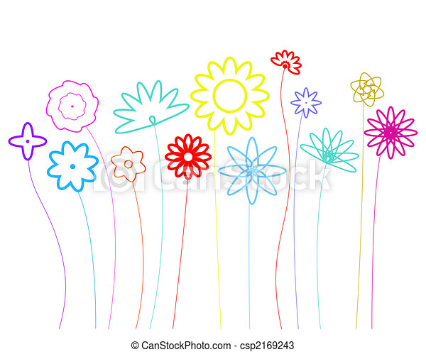 Stock Illustration floraldesignshapesrgb