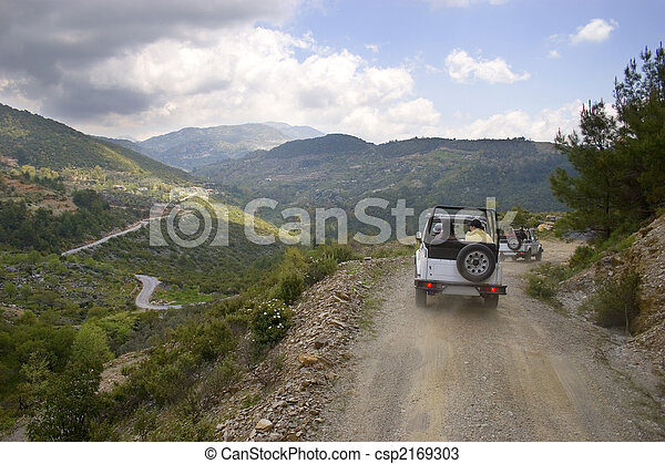 Turkey's jeep safari - csp2169303
