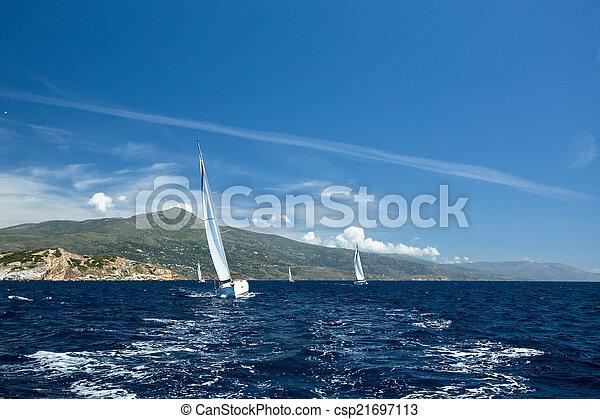 navegacin yates lujo regata participar veleros csp