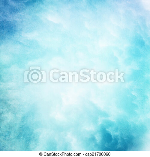 Cloud Texture Drawing Cyan Cloud Texture Background
