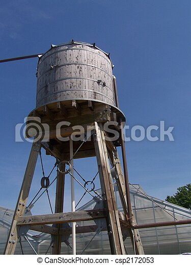 Water Tower - csp2172053