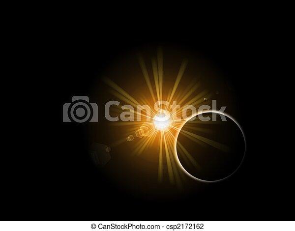 Sun Planet - csp2172162