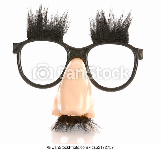 groucho marks glasses - csp2172757
