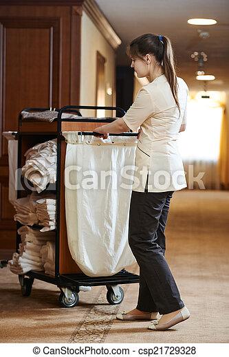 photo de femme chambre h tel hotel salle service femme csp21729328 recherchez des. Black Bedroom Furniture Sets. Home Design Ideas
