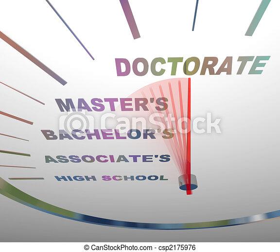 Speeding through College Degrees - csp2175976