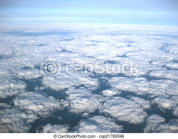 above the clouds - csp21765596