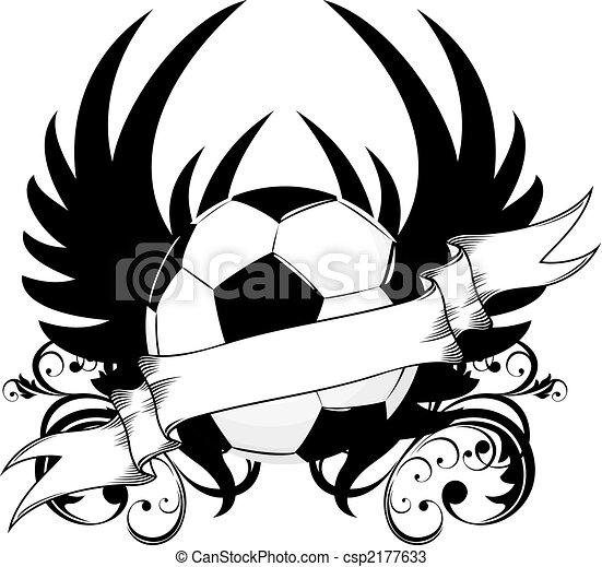 soccer team emblem - csp2177633