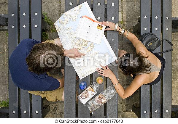 Planning a trip - csp2177640