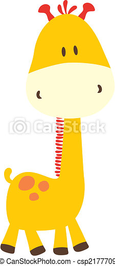childish giraffe - csp2177709